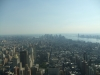 Manhatten, seen from the Empire State Building