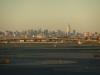 Manhatten, seen from the airport