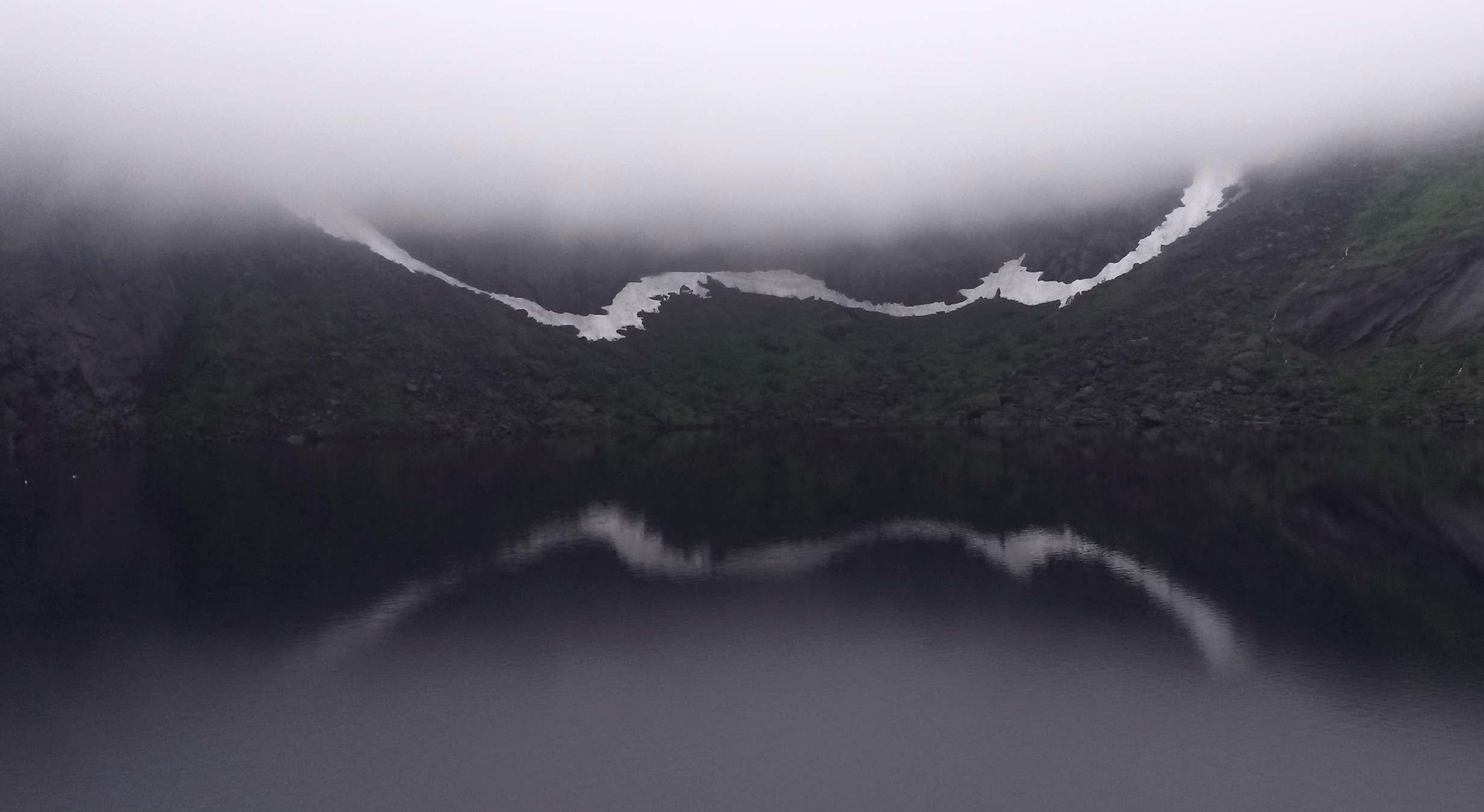 Lake above Reine