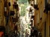 Via Toledo in the center of neaple